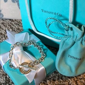 Tiffany and Co. Toggle Bracelet Authentic